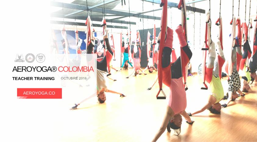 Yoga Aéreo: Nueva Formación Profesores en Bogotá, con Rafael Martinez