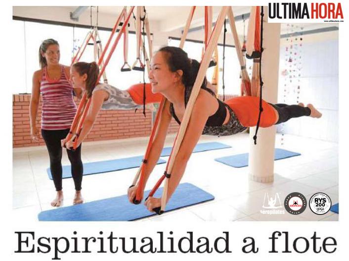 Noticias! Método AeroYoga® y AeroPilates® by Rafael Martinez de Nuevo en Prensa! Paraguay!