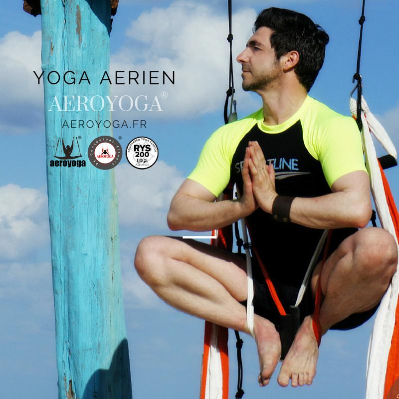 Paris, Yoga Aérien France: Stage AeroYoga® Diplôme Intenationale Avec Rafael Martinez