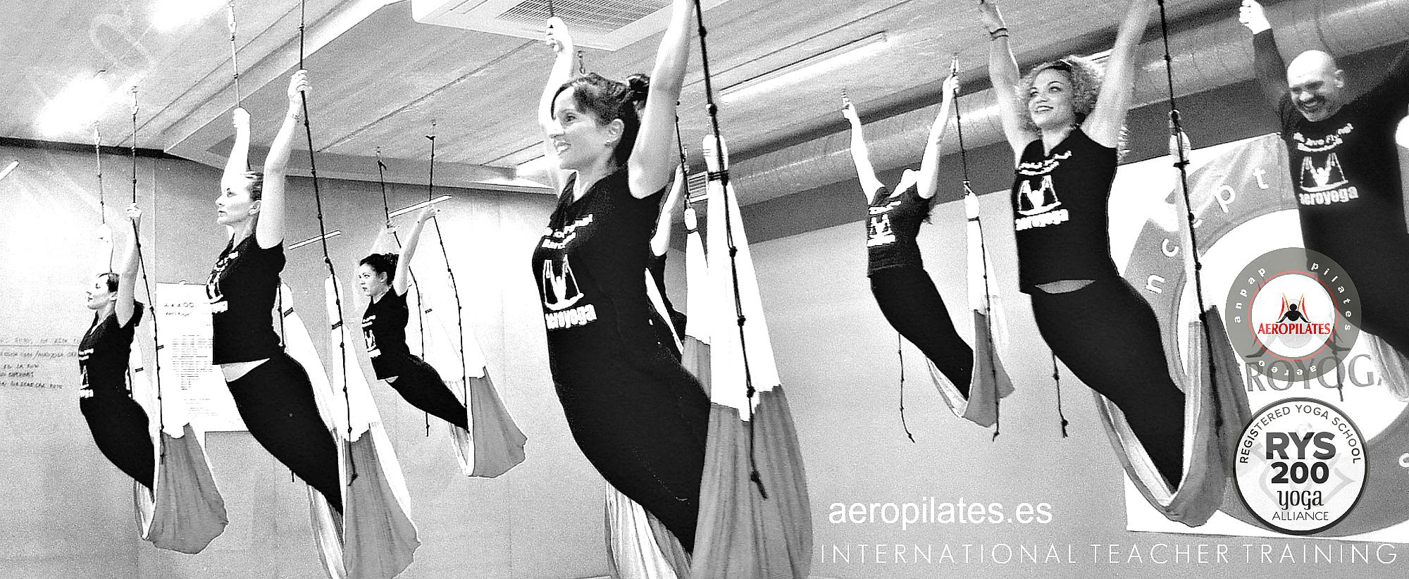 AeroPilates® Institute Presenta Nueva Formación Pilates Columpio del 4 al 11 Diciembre en Madrid