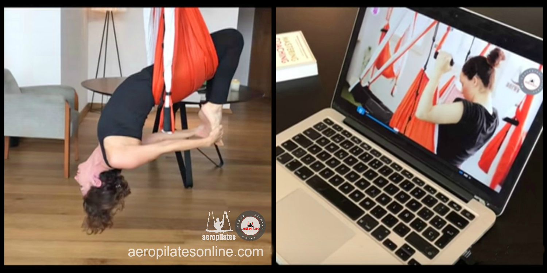 Curso Profesores AeroPilates® Online: Ya Puedes Formarte en Pilates Aéreo desde Casa!