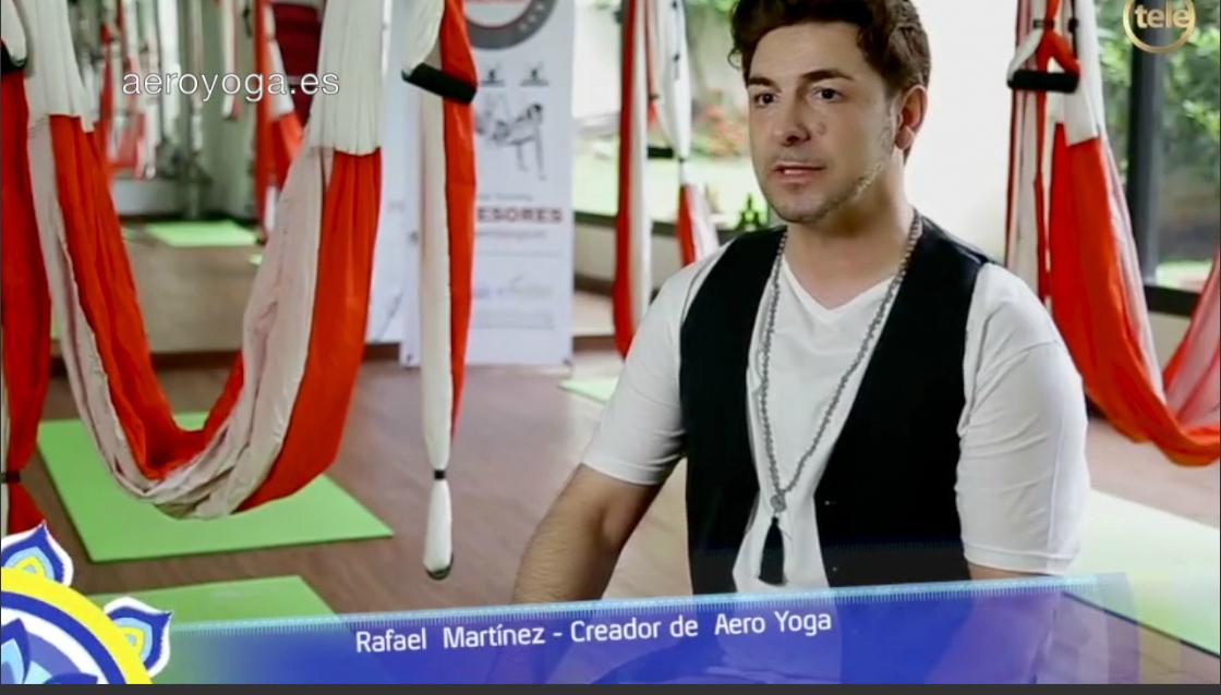 Descubre la Última Entrevista TV con Rafael Martinez, Creador Métodos AeroYoga® y AeroPilates®
