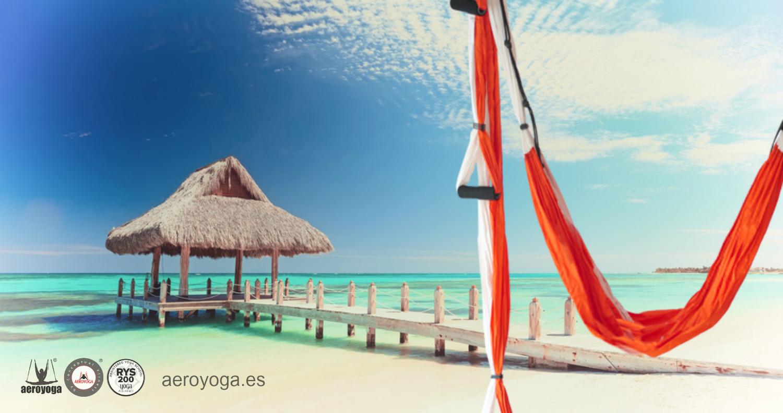 Nos Acompañas al Caribe? Punta Cana! Formación Profesores AeroYoga® & AeroPilates® Proximamente
