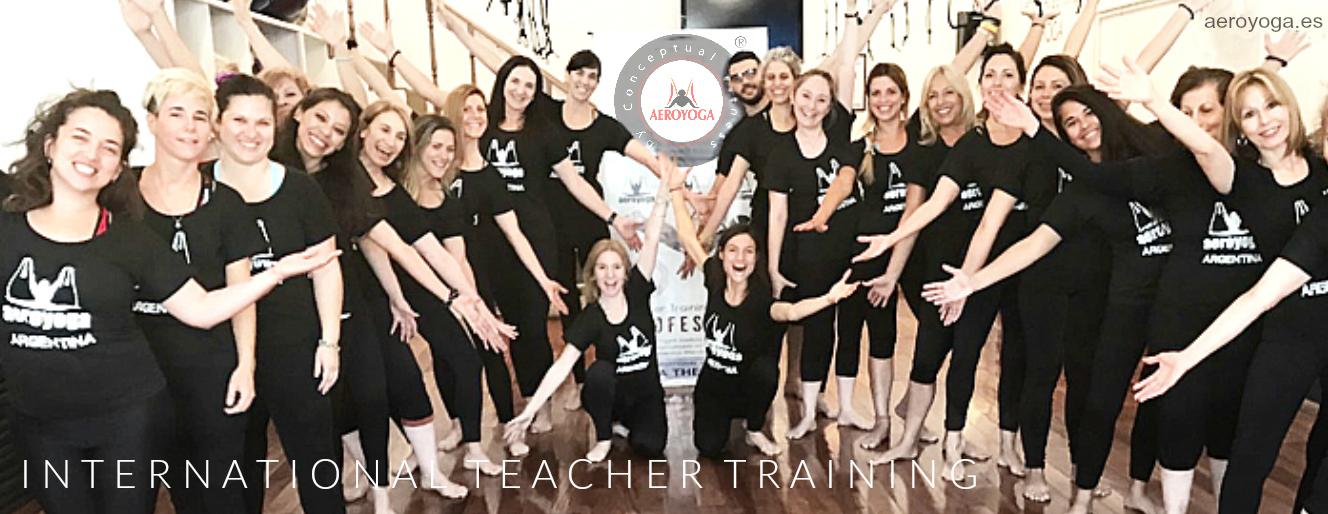 Formación Yoga Aéreo: Súmate a las Próximas formaciones AeroYoga® y AeroPilates® en Europa y latino América