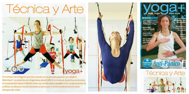 Nueva Entrevista a Rafael Martinez en Prensa Internacional. Revista Yoga Mas, Argentina y Uruguay