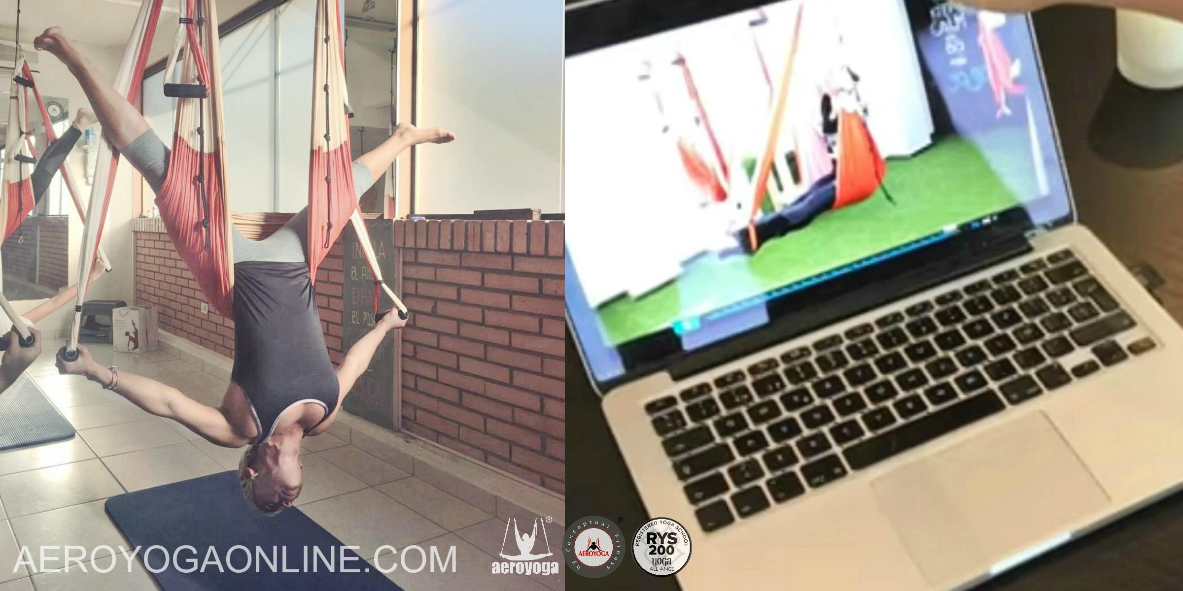 Formación AeroYoga® Online, Curso a Distancia!