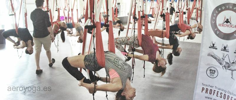 Formación Yoga Aéreo, Ven a CDMX, Cancún y Norte de México con AeroYoga® Internacional y Vuela Profesionalmente!