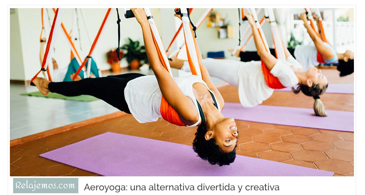 Origen del Yoga Aéreo en Relajemos.com