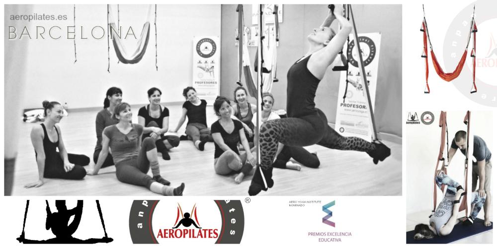 Sabías que la Formación AeroPilates® Regresa a Barcelona? Certificación Pilates Aéreo