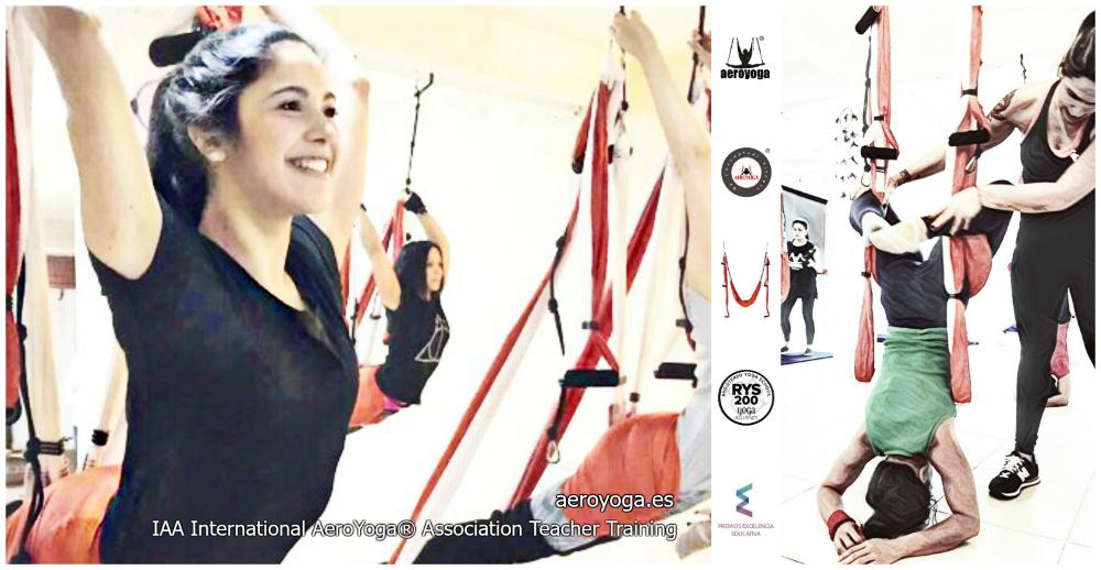 Tendencias Yoga Aéreo: Culminó con Éxito la 3a Certificación AeroYoga® Paraguay! Album con Alumnos y Profesores