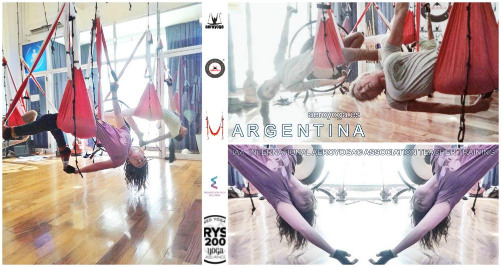 En Directo! Argentina, Continúa en Buenos Aires el Profesorado AeroYoga®, Album!