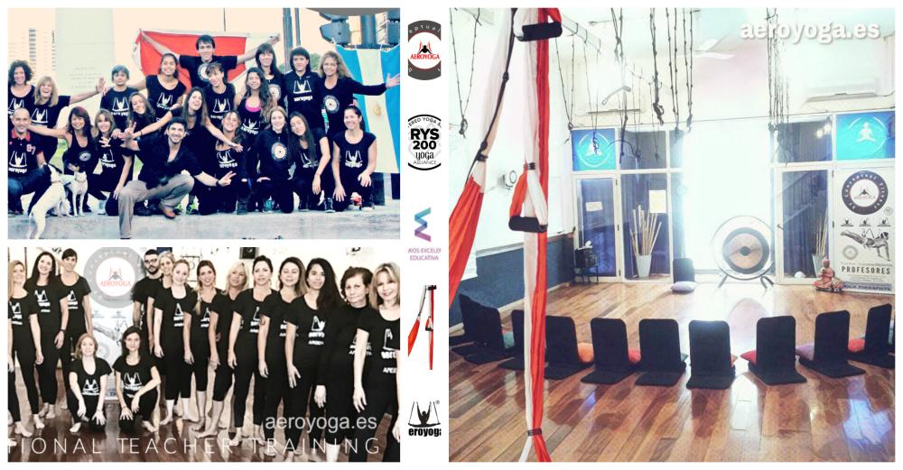 Noticias Yoga Aéreo: Sabías que Hoy da Inicio un Nuevo Profesorado en Argentina?