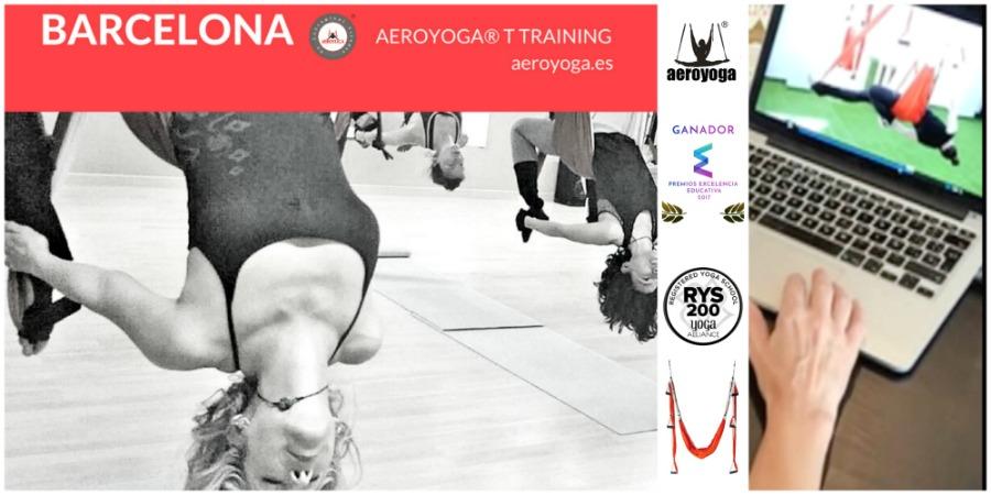 Noticias Yoga Aéreo Barcelona! Sexta Certificación IAA International AeroYoga® Association Junio 2017!