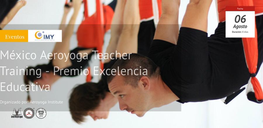 Noticias Yoga Aéreo México! Certificación AeroYoga® International Regresa al DF