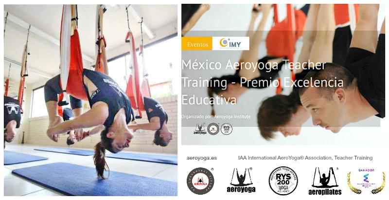 México City Certificación 6 al 13 Agosto! Te Gustaría ser Instructor o Empresario de AeroYoga®?