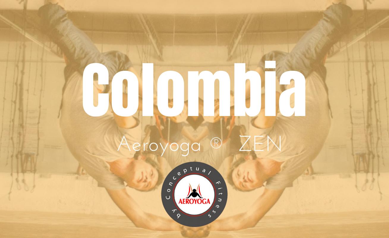 Aeroyoga Colombia  octubre, formación instructor  aeroyoga profesional