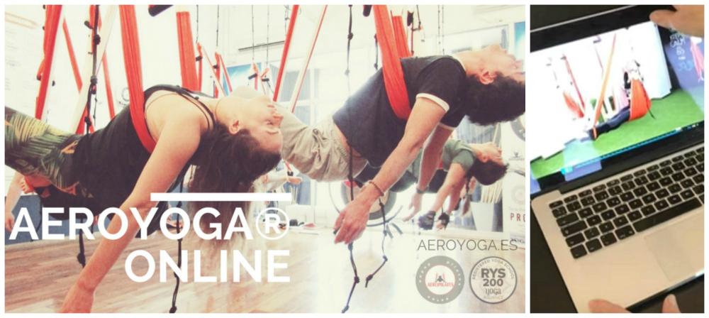 AeroYoga® Online Formación Profesores: Visita Nuestra Aula Virtual Gratis