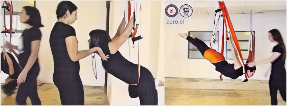 Enero 2018! Regresa a Chile Profesorado Aero Yoga Institute (Acreditado Yoga Alliance)