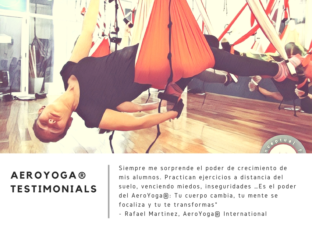 Yoga Aéreo Argentina! Aeroyoga® Official Teacher Training en Directo!