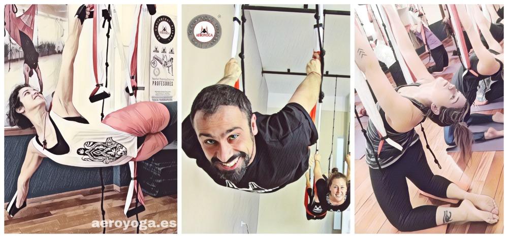 Yoga Aéreo Noticias! Argentina, Querés ser Profesor AeroYoga®? Noviembre! Profesorado Buenos Aires