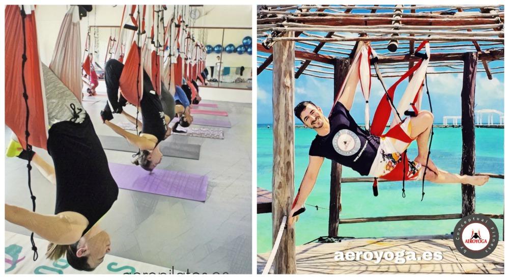 Noticias Yoga Aéreo: Llega la Certificación Oficial AeroYoga® International al Norte de México