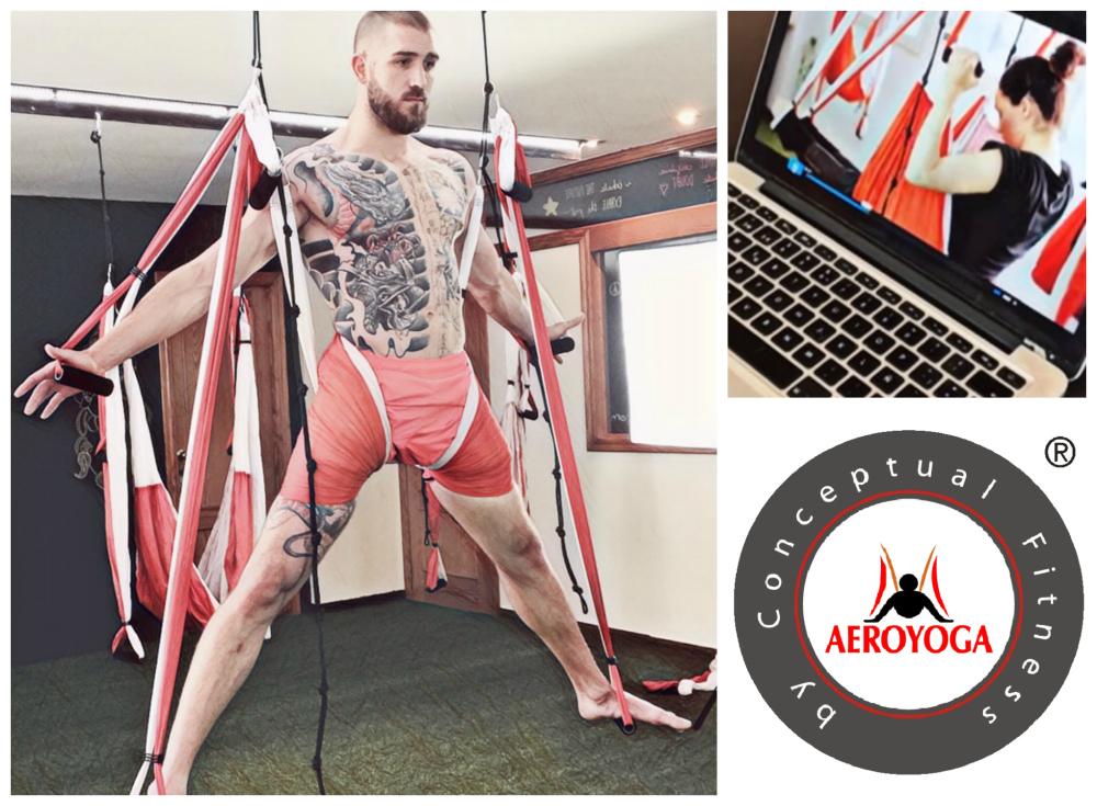 Aerial Yoga Online Teacher Training in English,  By AeroYoga® International