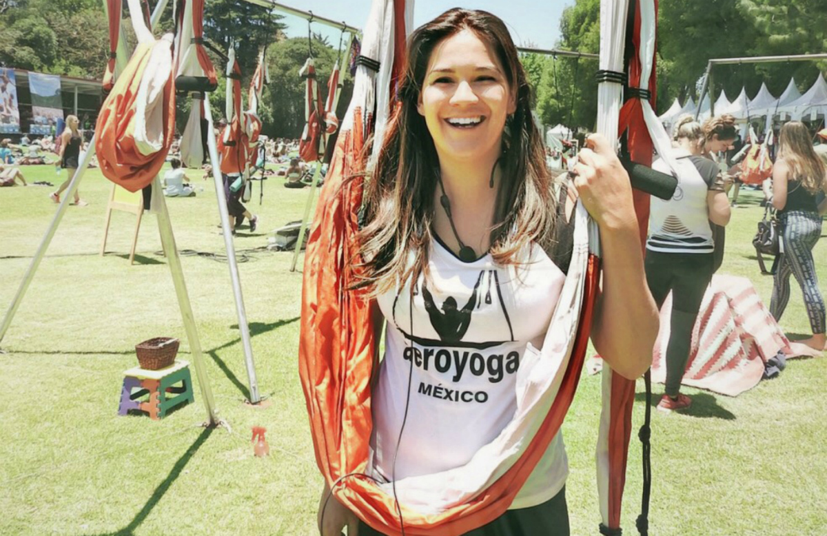 México DF, «Mi Historia antes de conocer AeroYoga®» Testimonio