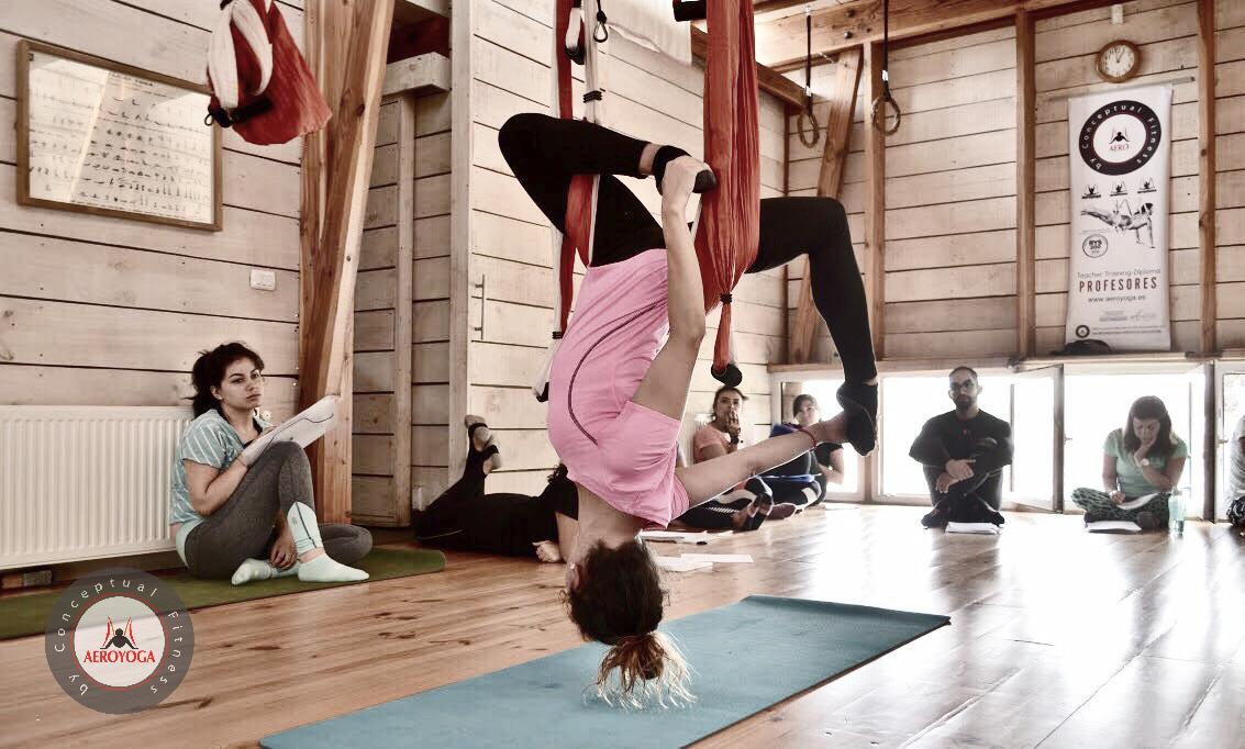 En Directo desde Chile! Formación Profesores Aero Yoga Institute