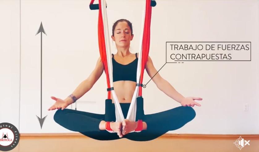 Vídeo: Padmasana Aérea, Postura de Yoga Acrobática en Ingravidez