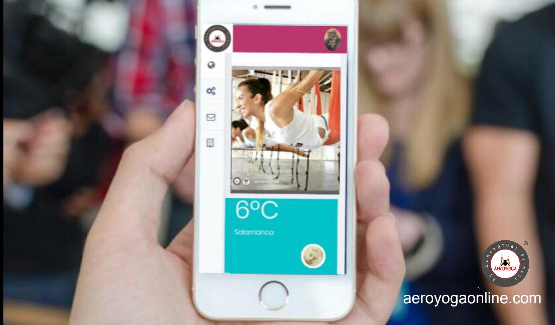 La Formación Online de AeroYoga® este Mes con un Super Descuento, Accede al Aula Virtual 24 hr Gratis!
