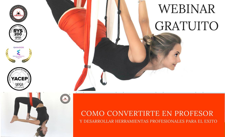 Video: Webinar Completo «Ser Profesor AeroYoga® y Tener Éxito»