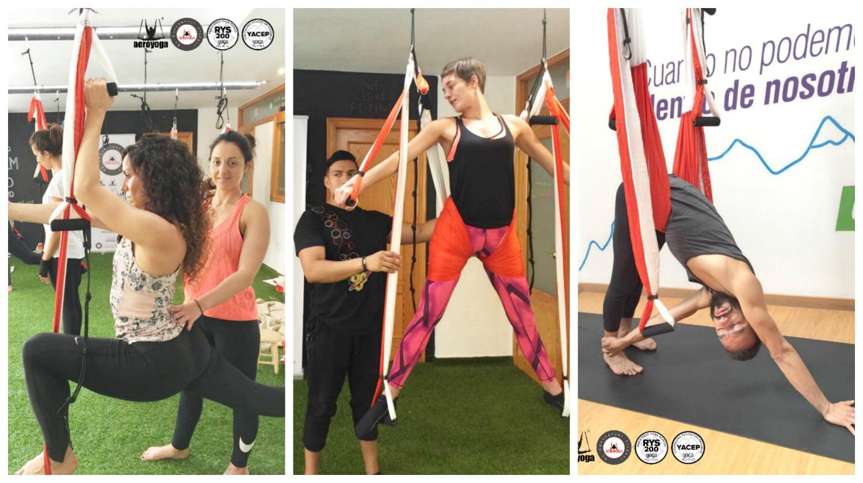Yoga Aéreo: Qué es el Aero Vinyasa? la Versión Dinámica del AeroYoga ®