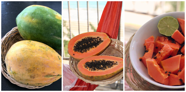 Nutrición y Ejercicio, Beneficios de la Papaya en el AeroYoga®