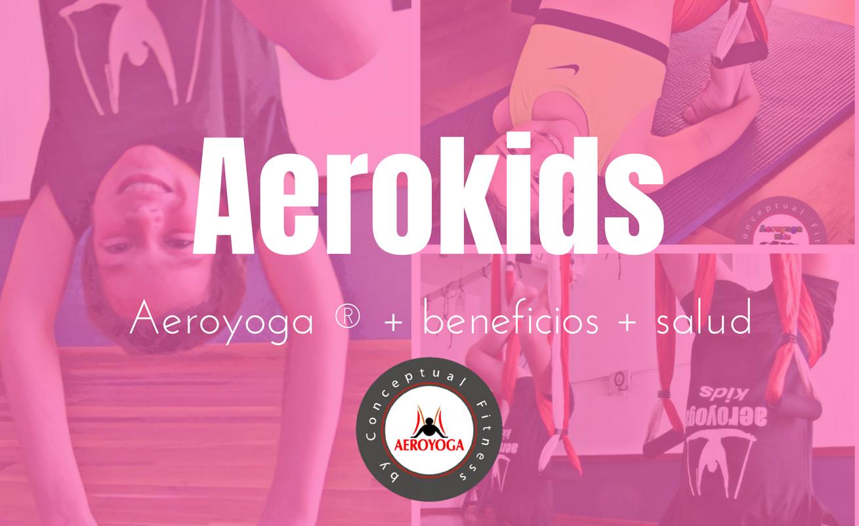 Curso de Aeroyoga  Kids Aeroyoga para niños, inscribete ya