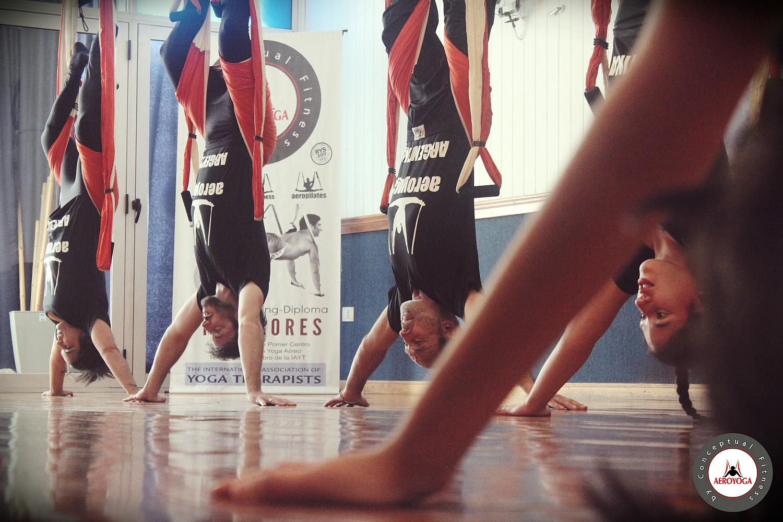 Yoga Aéreo: Mira el Album Última Certificación Profesores AeroYoga® Argentina