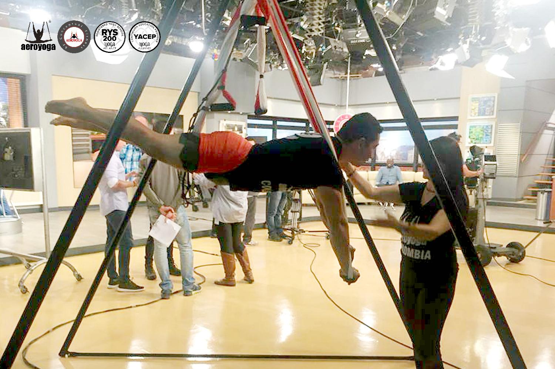 Método Aero Yoga International Regresa a la Televisión Colombiana