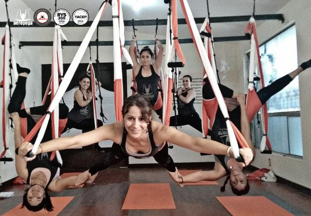 Yoga Aéreo México: Culminó Un Nuevo AeroYoga ® Teacher Training en Torreón