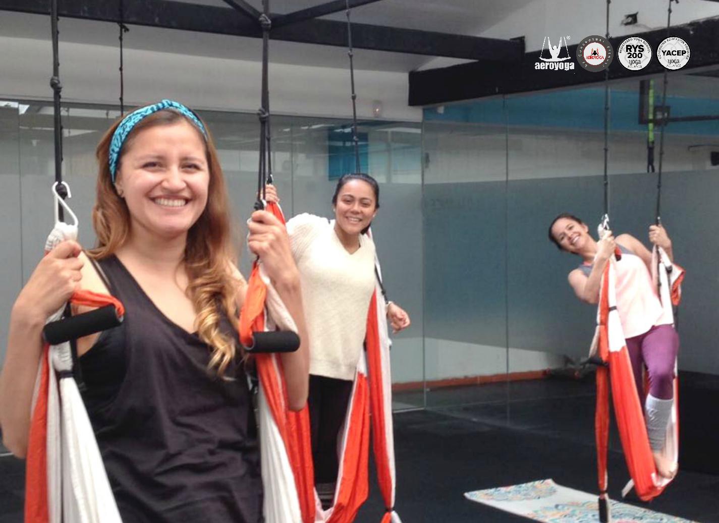 Yoga Aéreo Colombia! regresó a Bogotá la Formación Profesores Aero Yoga International