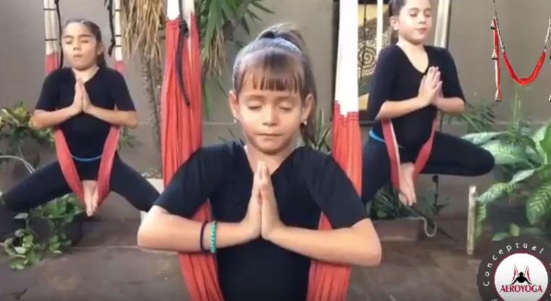 Formación AeroYoga® Kids Septiembre 2018. Conviértete en Profesor de Yoga Aéreo Niños.