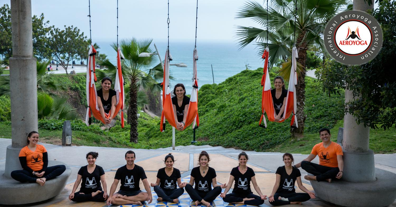 Lima! Nuevo Curso Profesores Aero Yoga International Noviembre 2018…