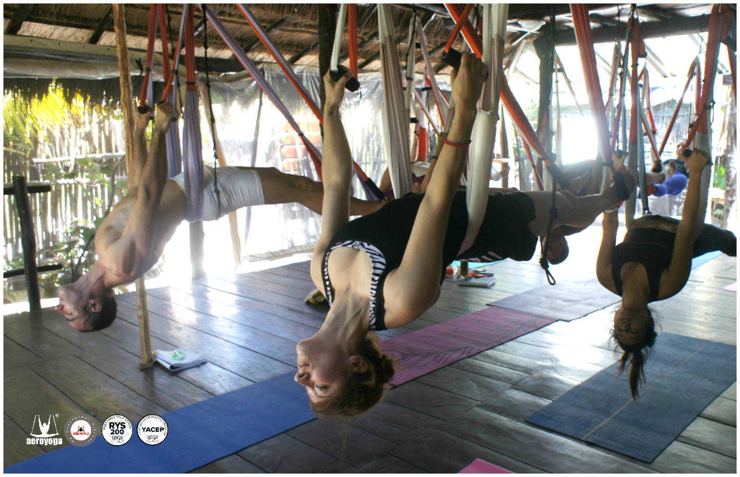 Puerto Rico, Aerial Yoga Teacher Training con AeroYoga® International