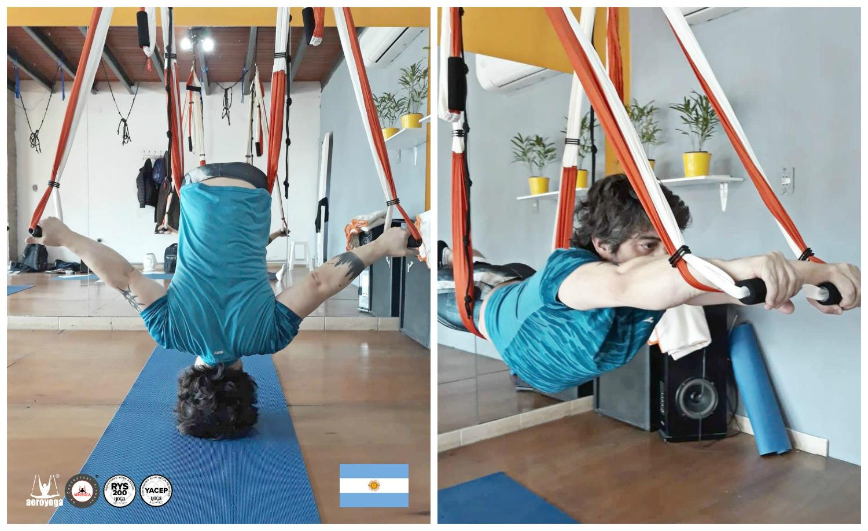 Aerial Yoga Teacher Training: Continúa esta Semana en Córdoba la Formación AeroYoga®, Air, Fly!