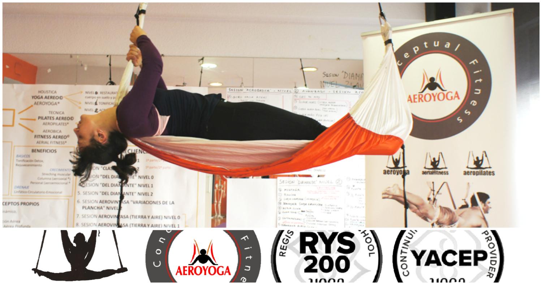 Certificate como Profesor AeroYoga® desde Casa!