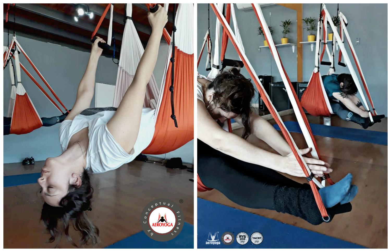 Aerial Yoga: Comenzó en Córdoba, Argentina, Nuevo Profesorado Aero Yoga International!