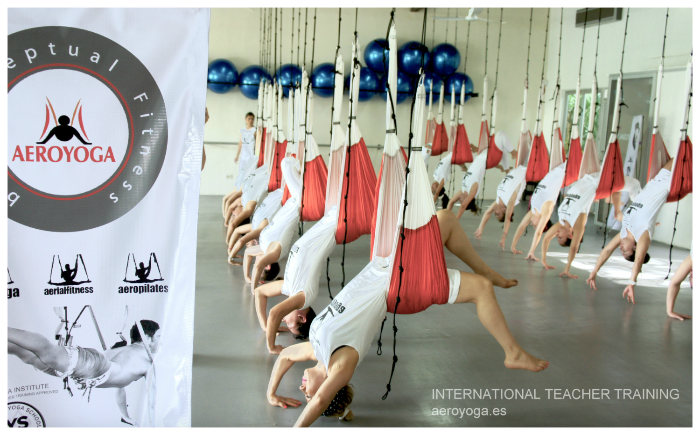 México DF! Nueva Certificación Aero Yoga International, Comenzamos Nuevo Curso!