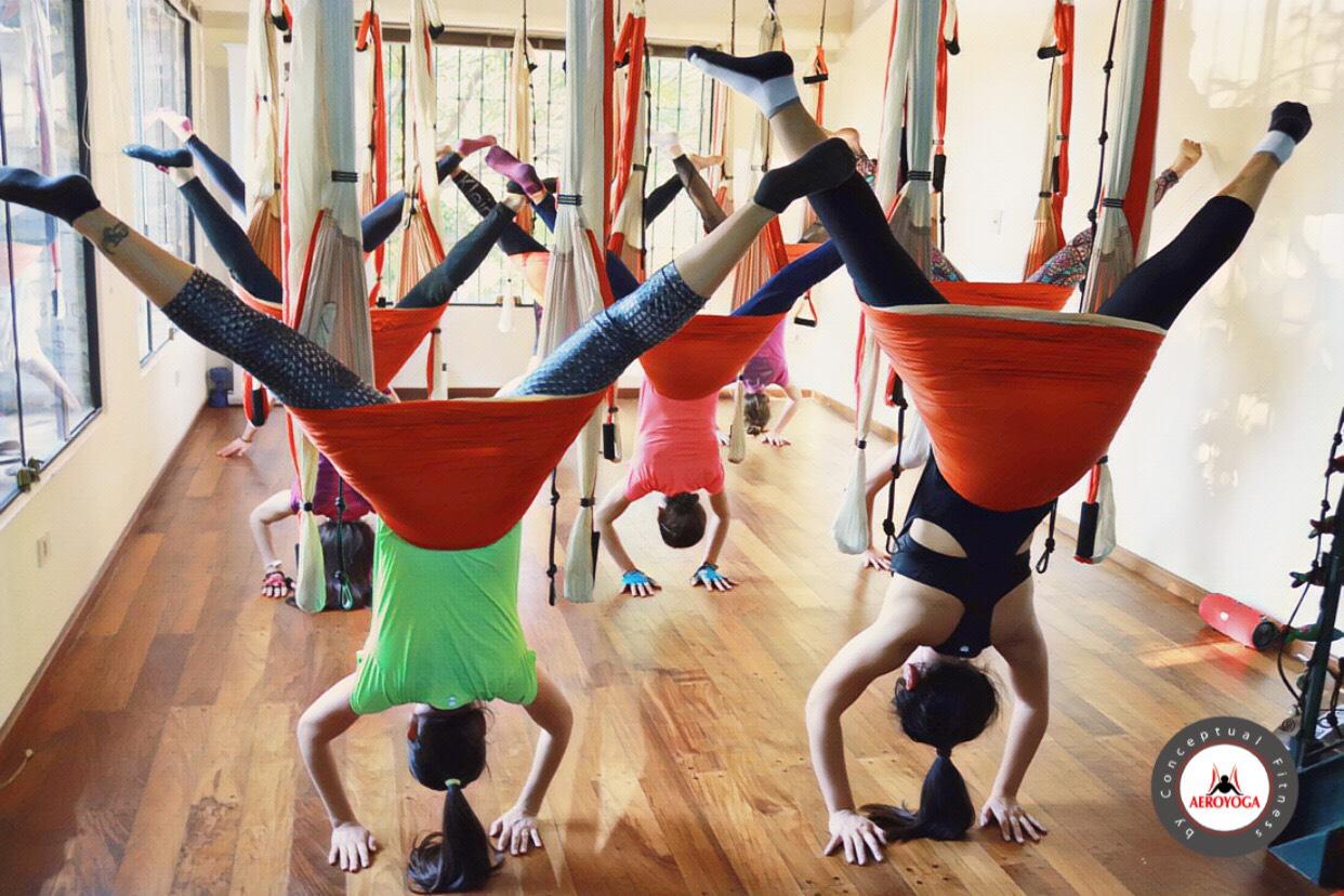 Comenzó la 4a Formación Profesores AeroYoga ® en Paraguay! Aerial Yoga Teacher Training