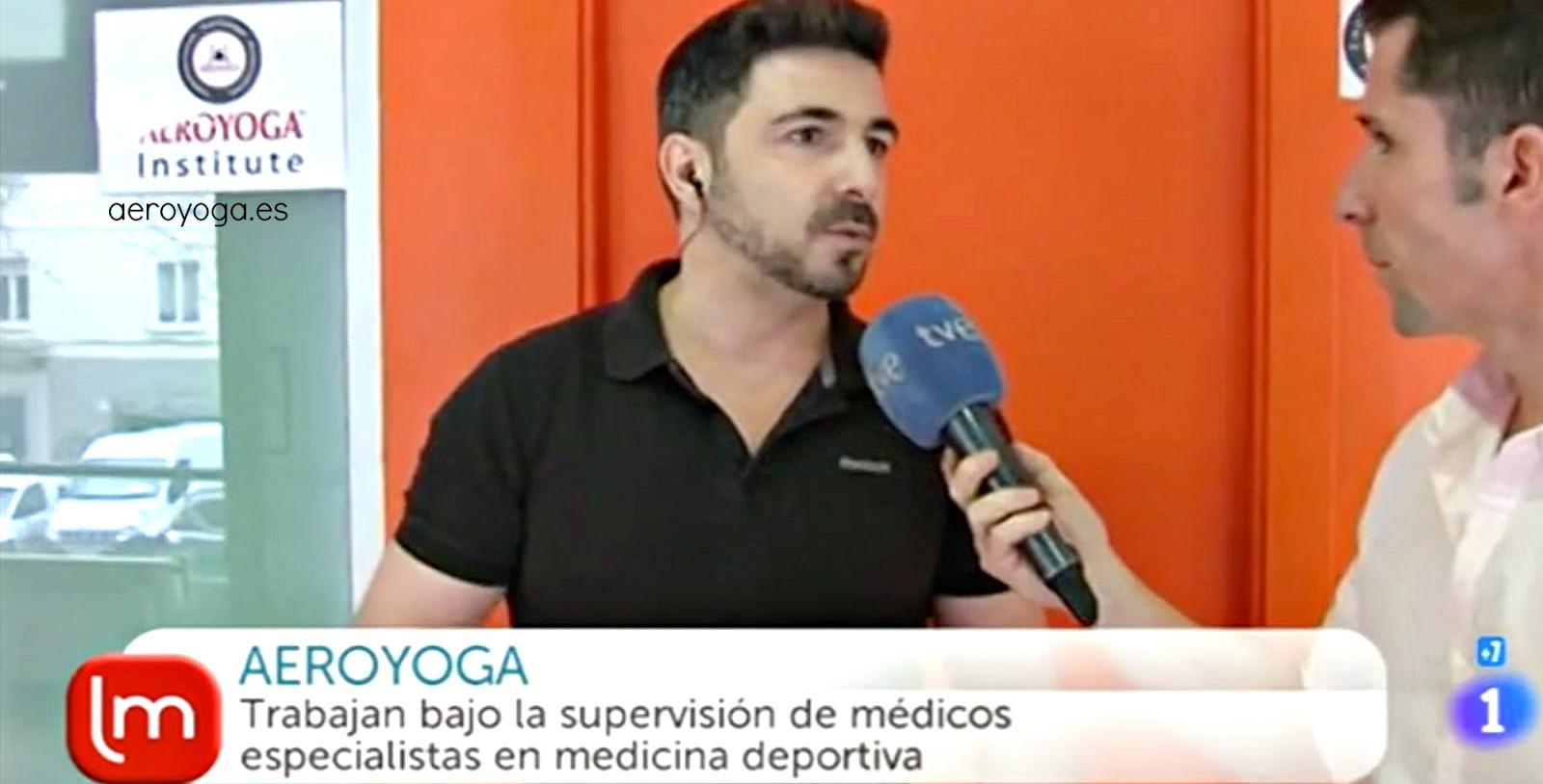 Yoga Aéreo en Televisión: Método AeroYoga ® en TVE