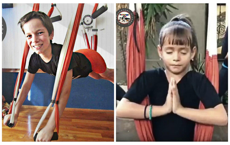 Septiembre! Teatro y Juegos en el Curso Profesores AeroYoga ® Kids!
