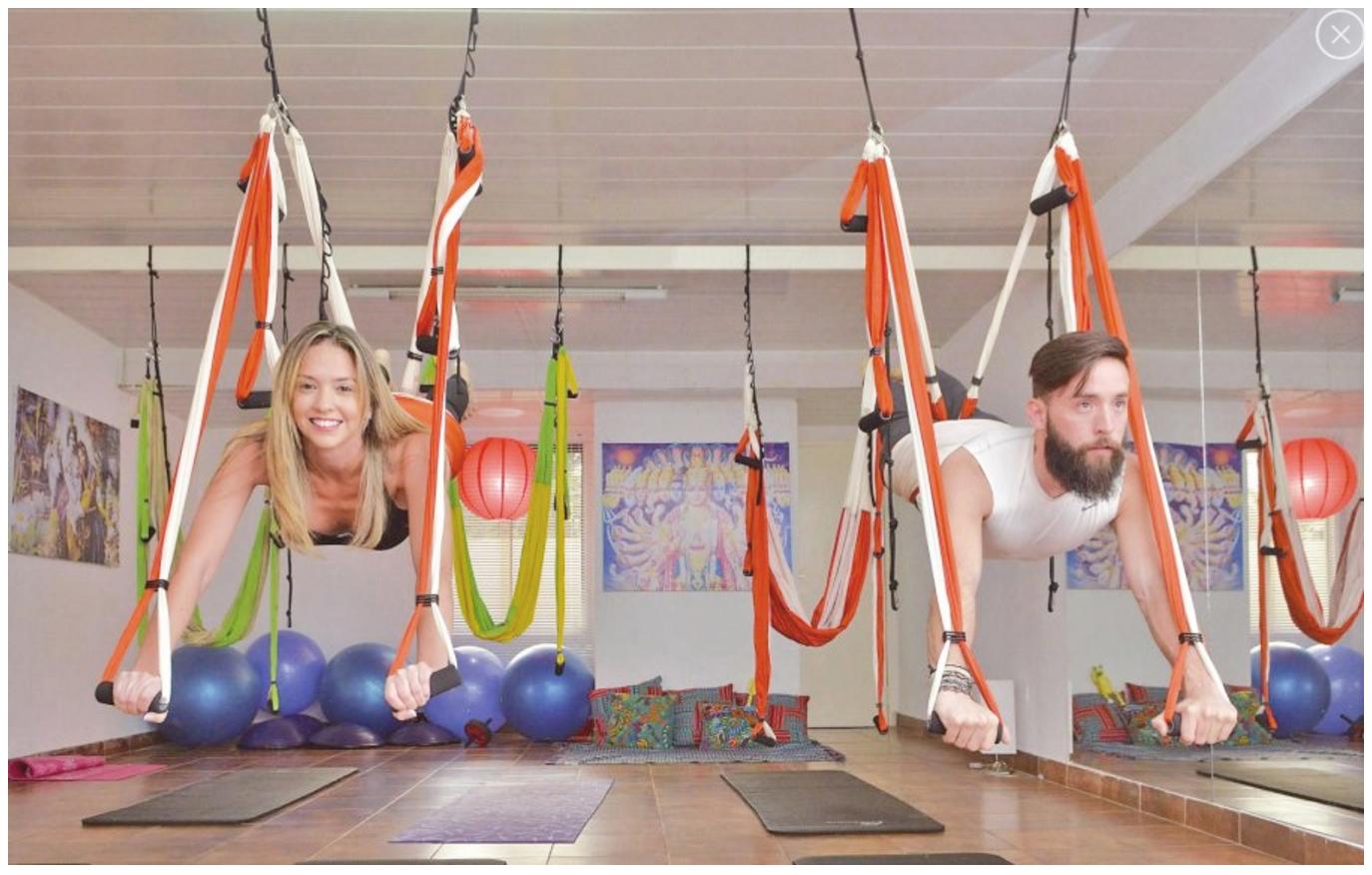 Yoga Aéreo: Qué es el AeroYoga ® en 20 Preguntas!