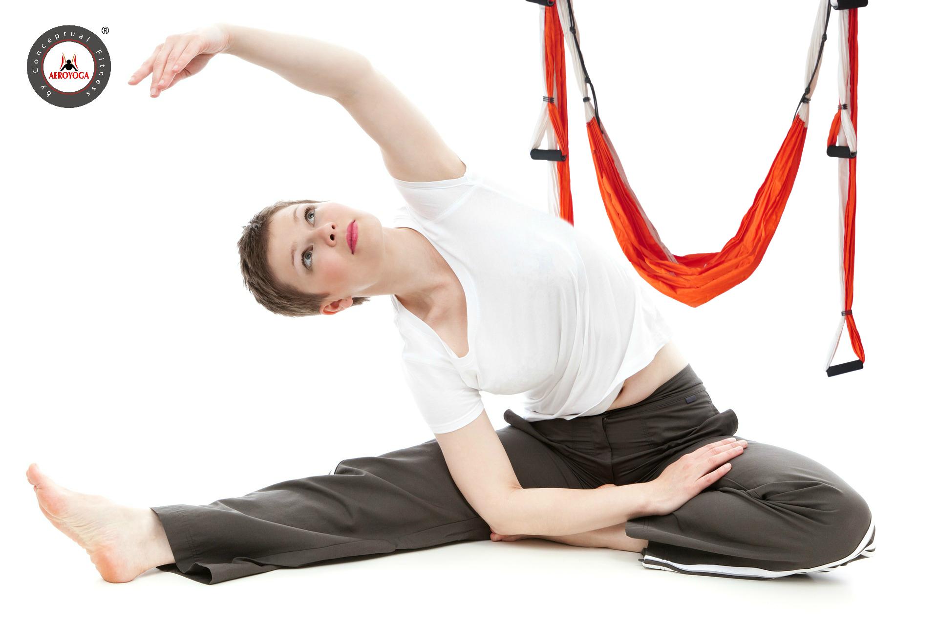Yoga Aéreo: Adelgazar con AeroYoga ® es Posible